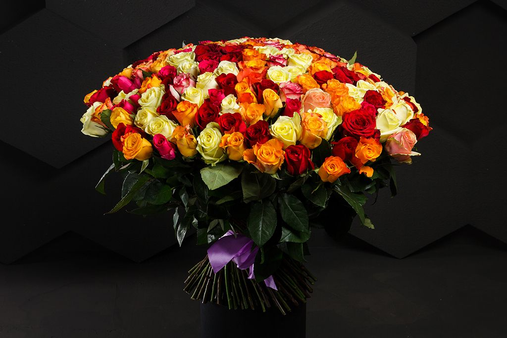 Букет Фламандская легенда (201 роза) фото