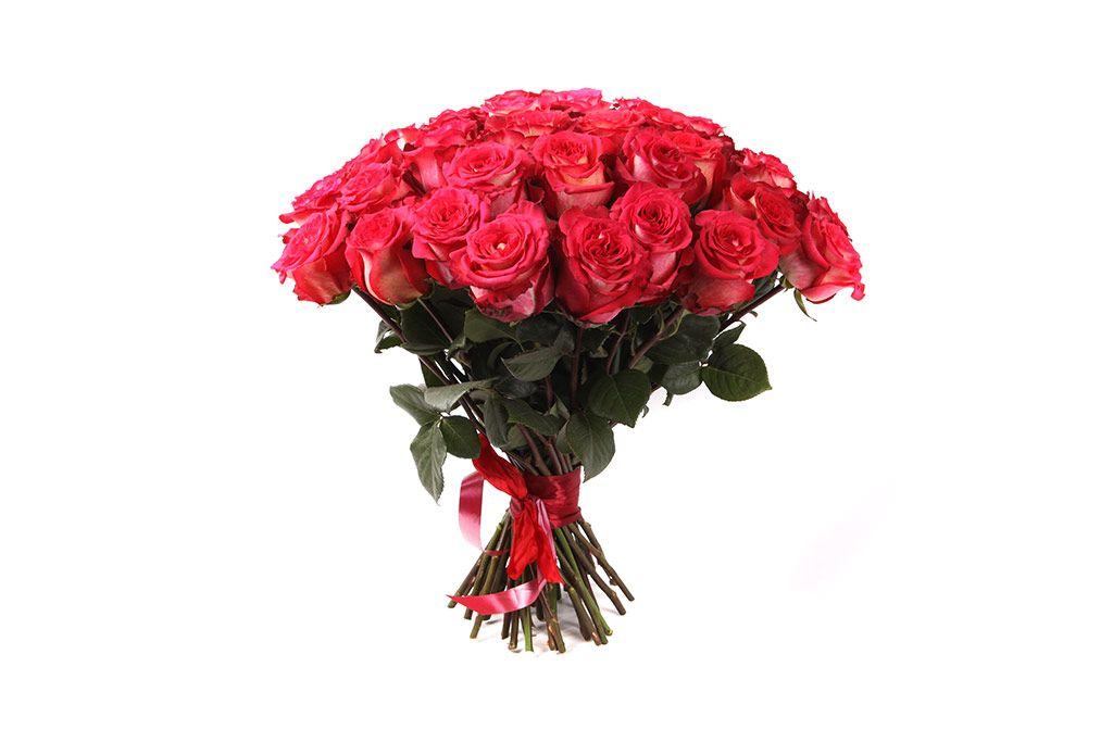 Букет 51 роза Игуазу фото