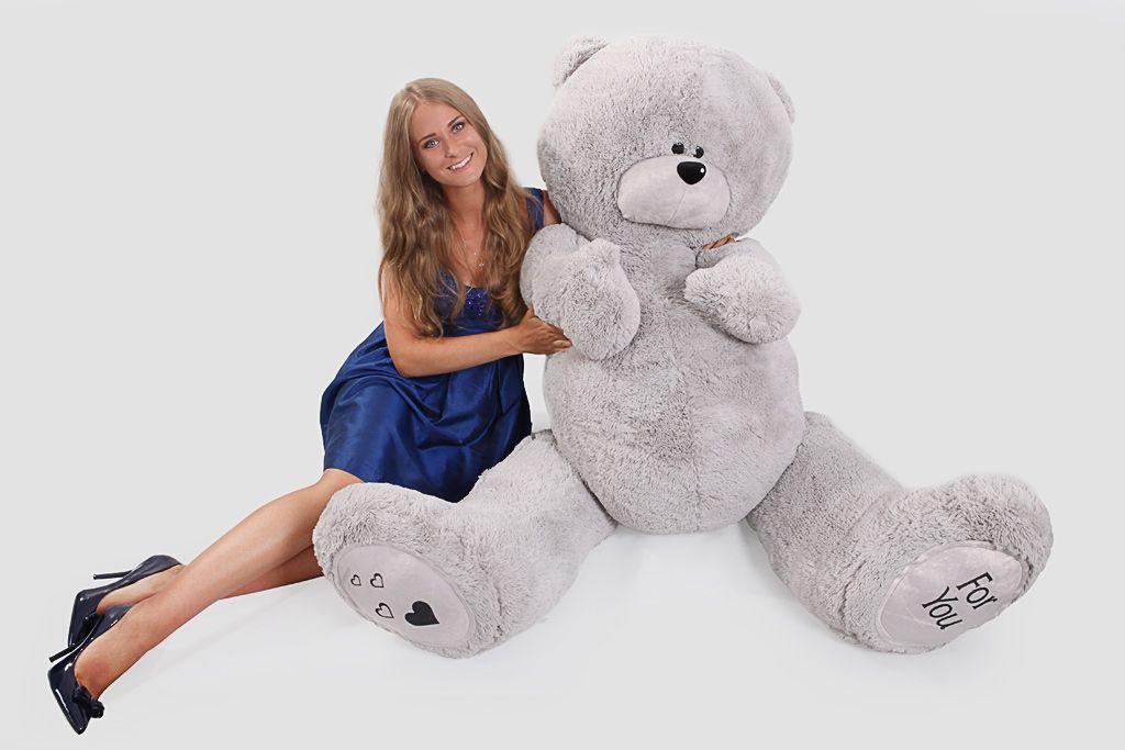 Огромный мишка Тедди (2 метра) фото