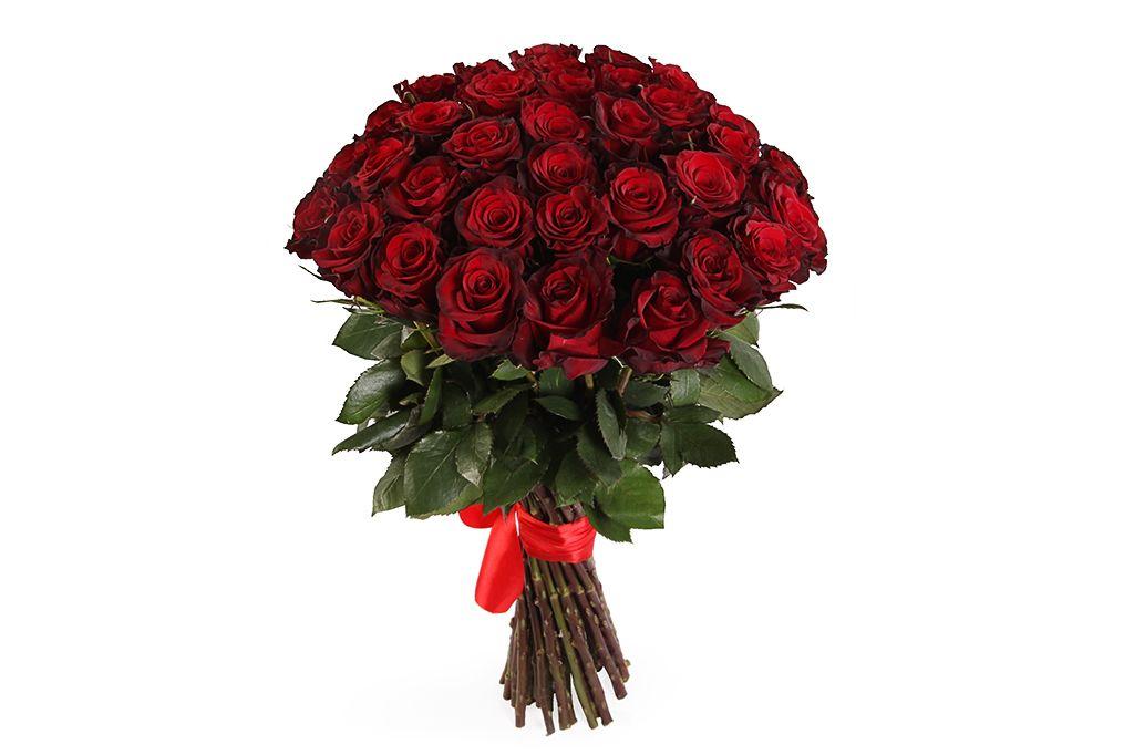 Букет 35 роз Ред Париж фото