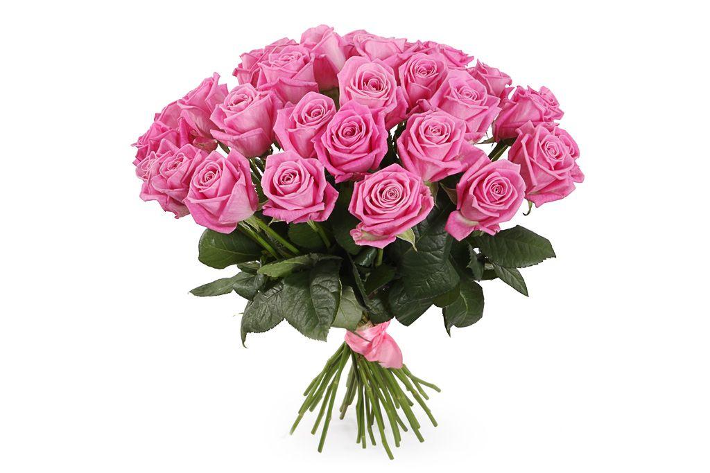 Букет 35 роз Аква фото
