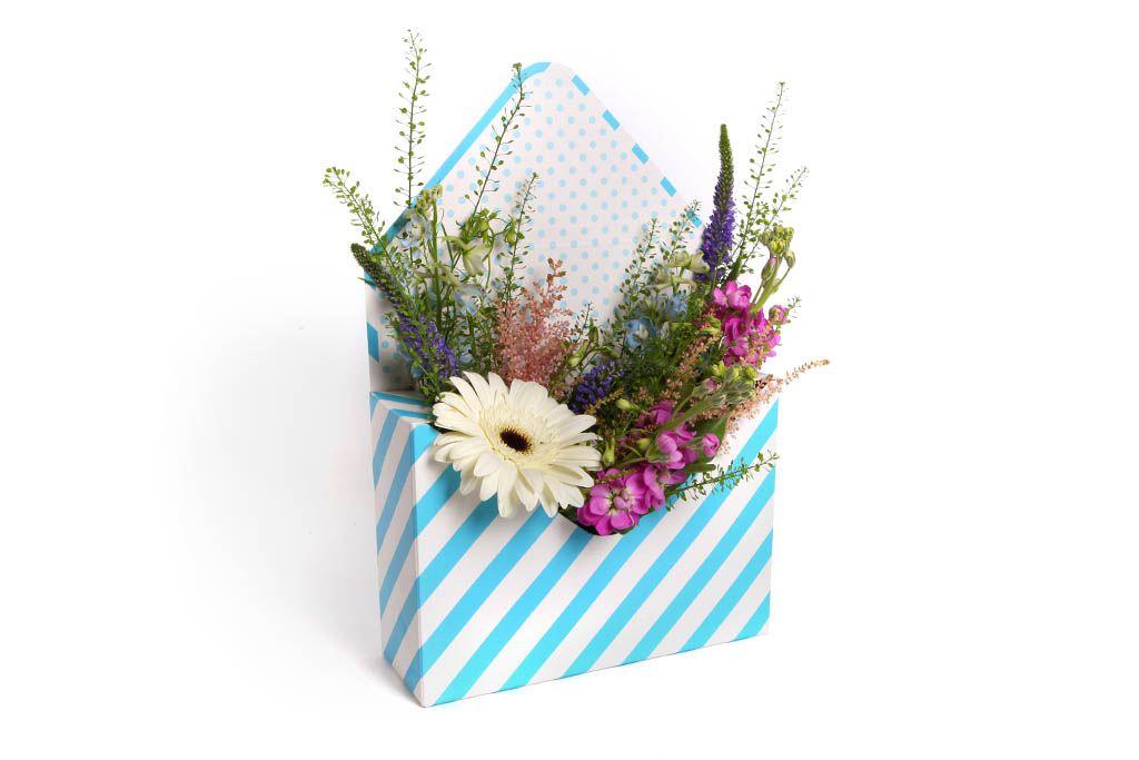 Букет Письмо счастья в конверте фото