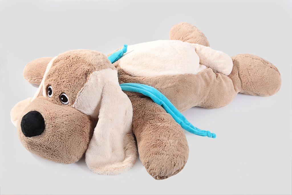 """Мягкая игрушка Lapkin """"Собака"""" (кор./беж.), 100 см фото"""