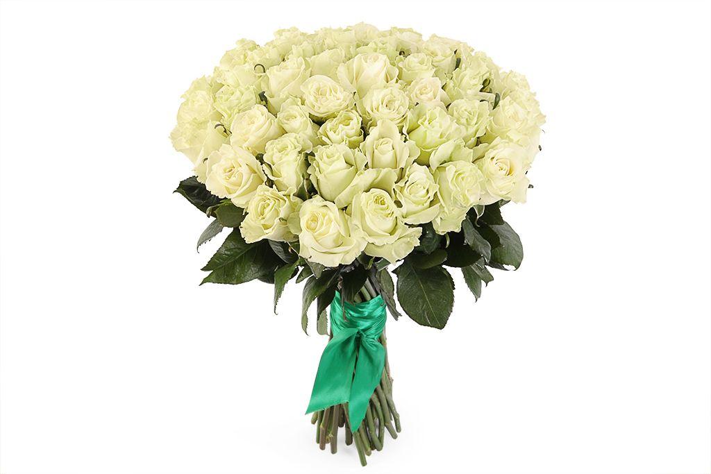 Букет 51 роза Мондиаль фото