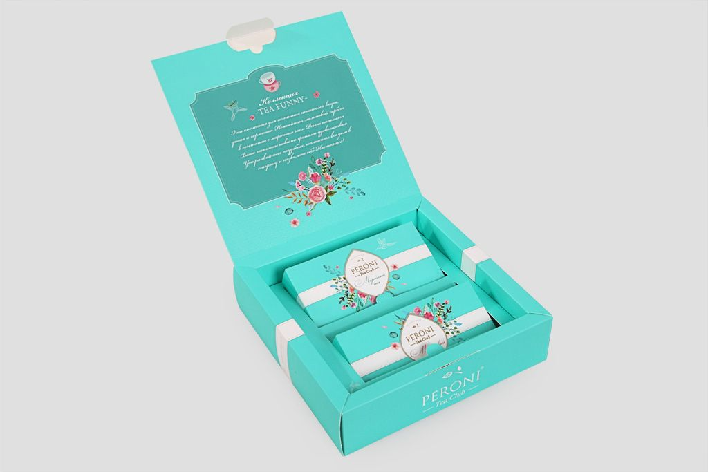 Подарочный набор Peroni «Чай & мед» фото