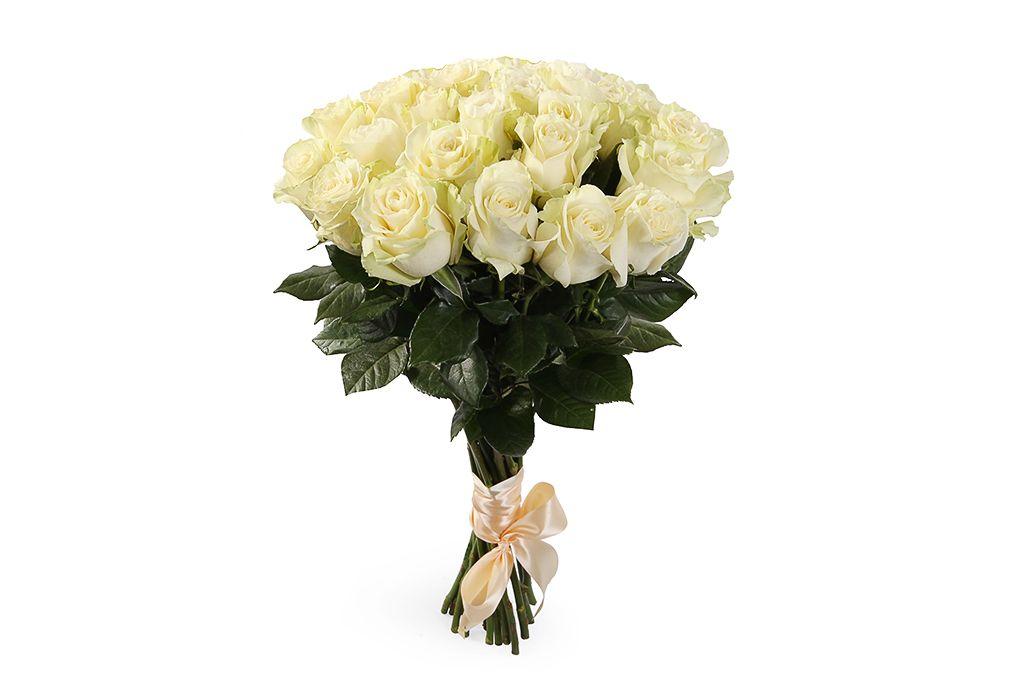 Букет 21 роза Мондиаль фото