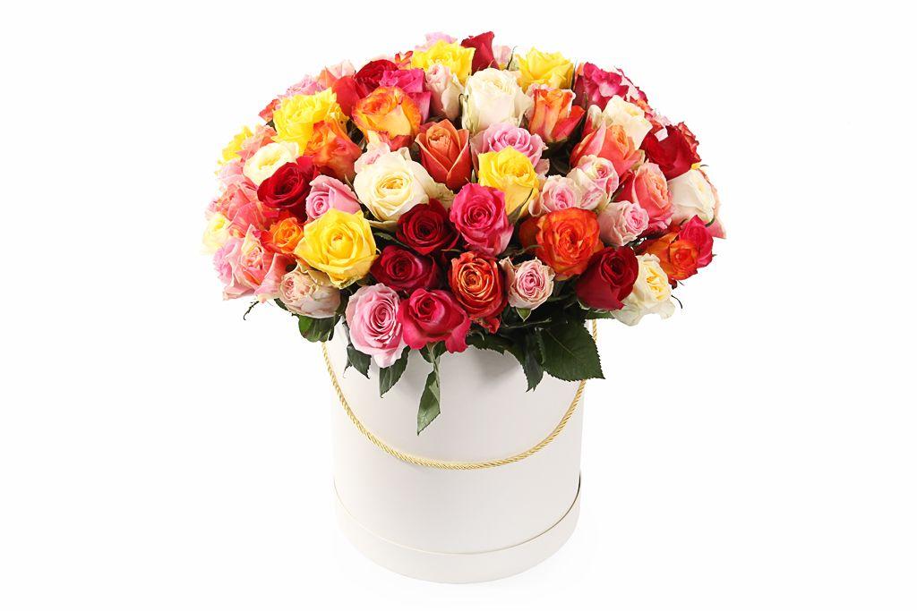 Букет Фламандская легенда (101 роза) в коробке фото