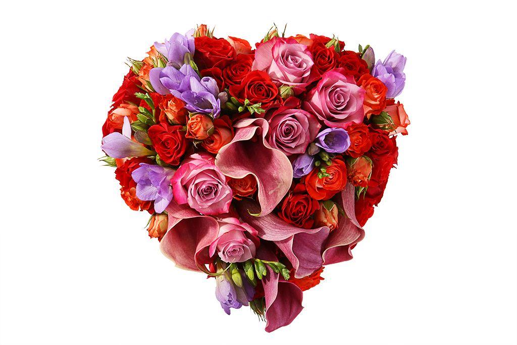 Букет невесты Сердце Данко фото