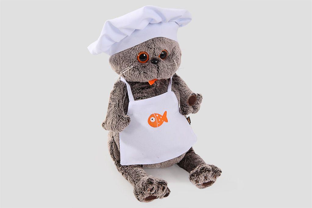 Кот Басик шеф-повар (большой) фото
