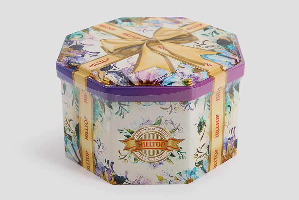Чай подарочный Hilltop «Золотой бант» фото