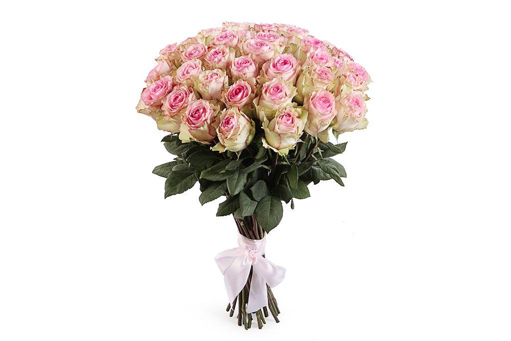 Букет 51 роза Эсперанс фото