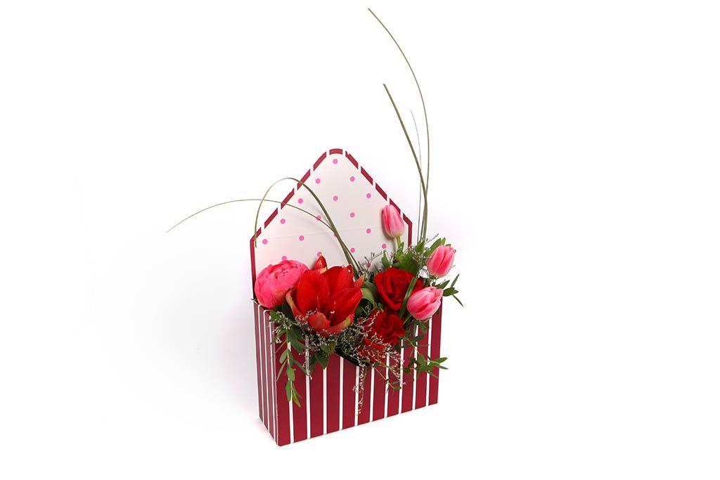 Букет Час любви в конверте фото