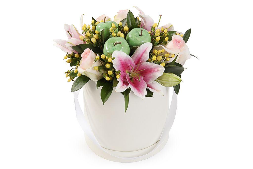 Букет с лилиями Весенний ангел фото