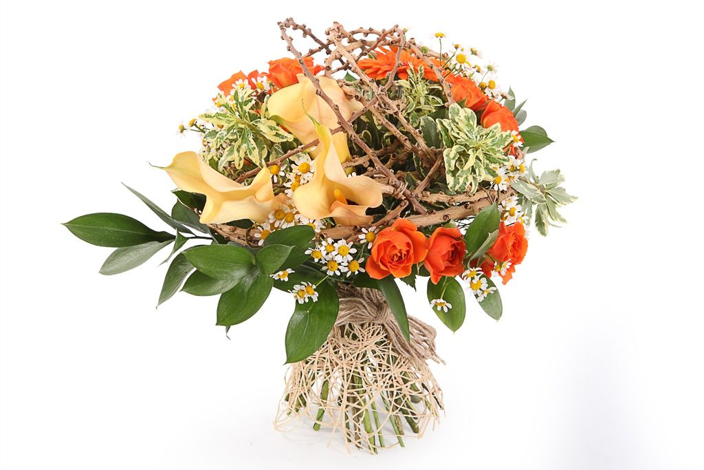 Букет Осенняя вуаль фото