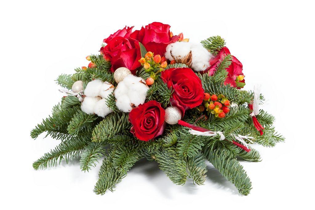 Букет Снежная роза фото
