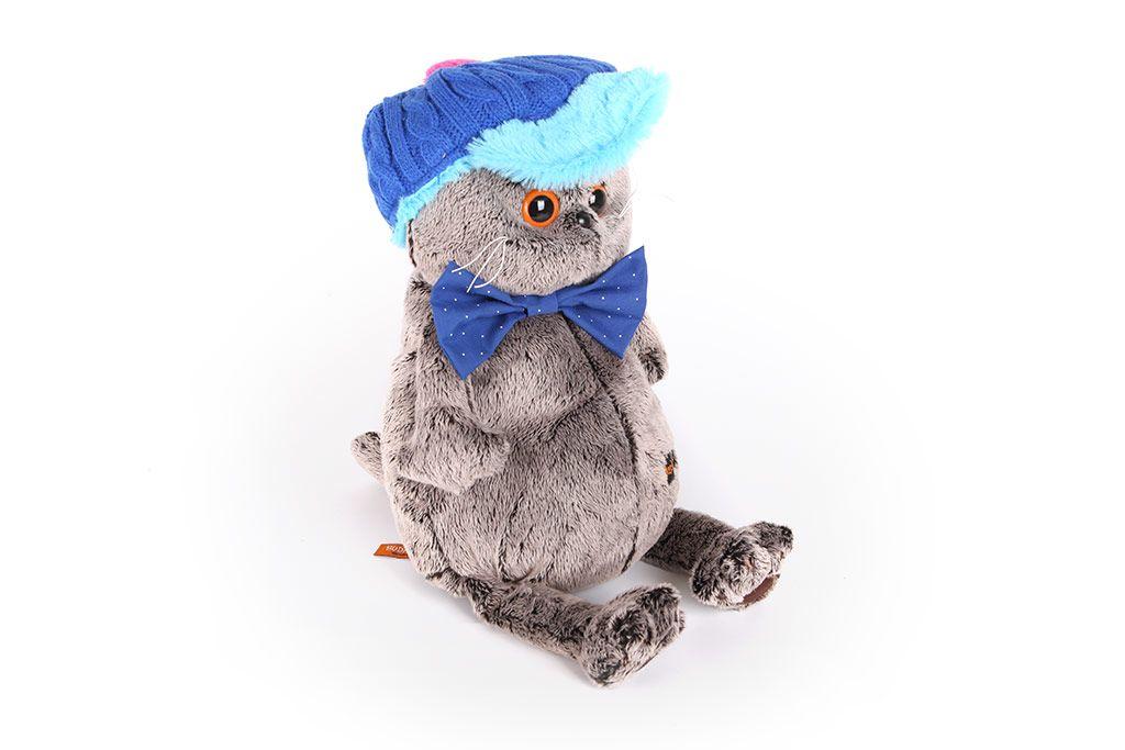 Кот Басик в кепке фото