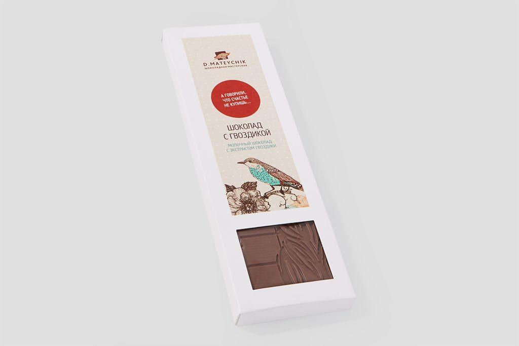 Шоколад молочный с гвоздикой фото