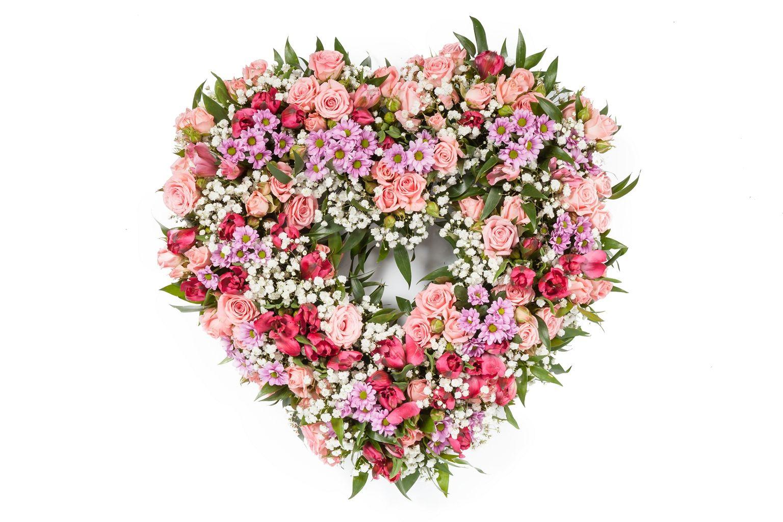 Букет Весеннее сердце фото