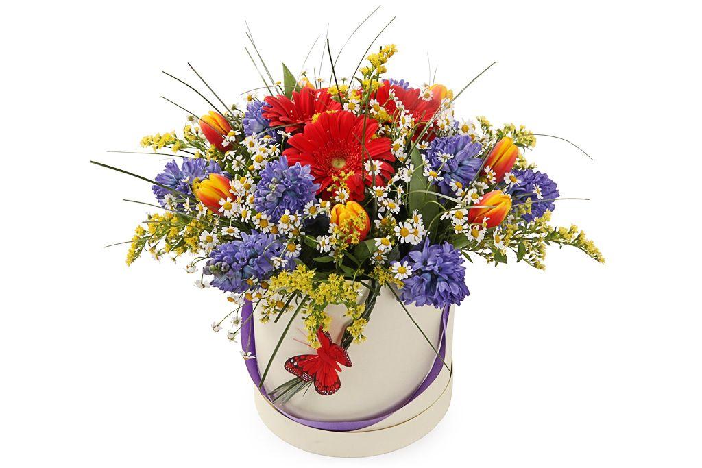 Букет Весна-красна фото