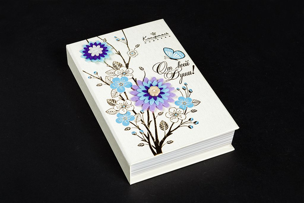 """Книга о шоколаде """"От всей души"""" фото"""