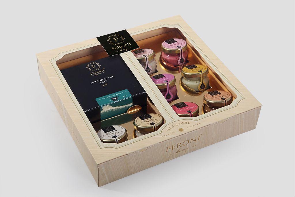 Подарочный набор Peroni «Молочный Улун & мед» фото