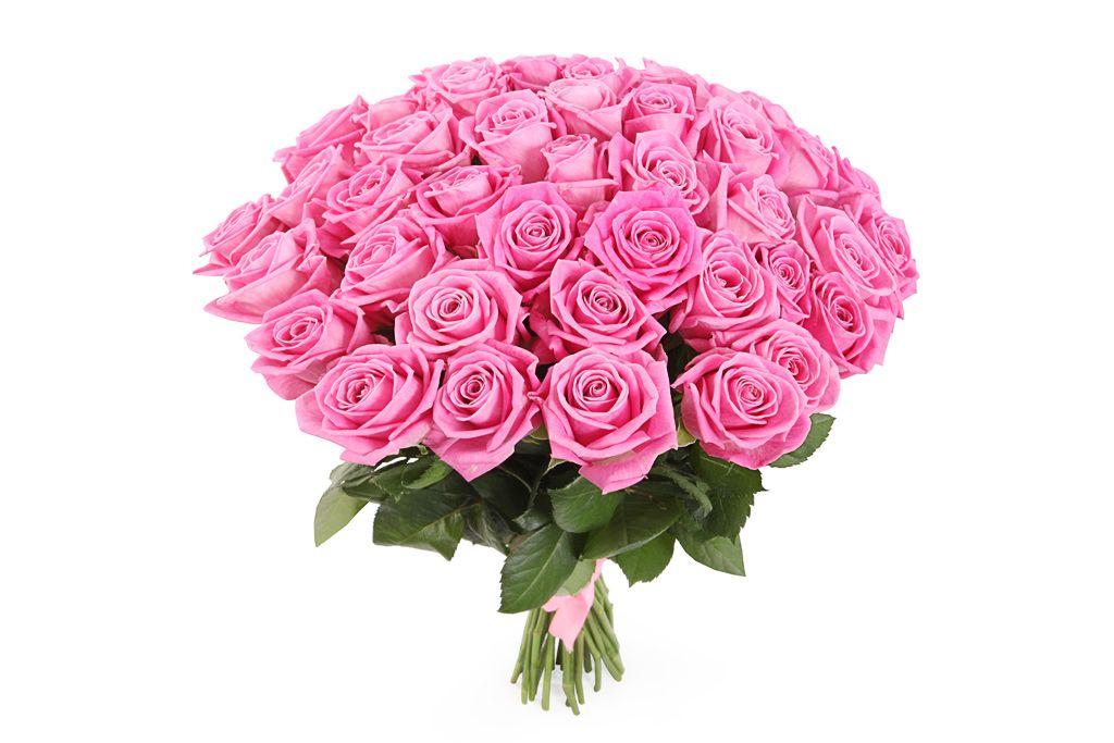 Букет 41 роза Аква фото