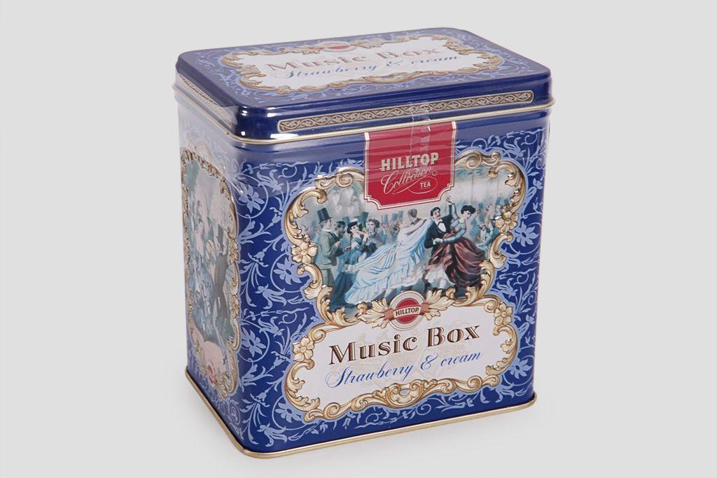 Чай подарочный Hilltop «Музыкальная шкатулка» фото
