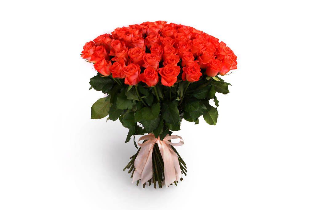 Букет 101 роза Вау фото