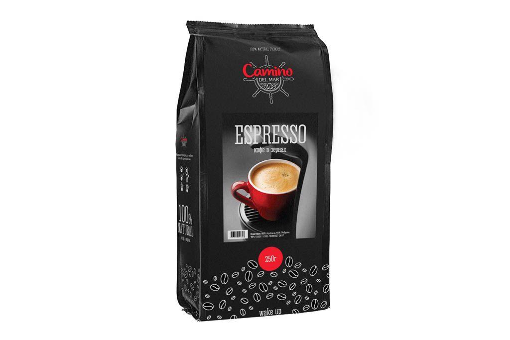 Кофе в зернах Camino Del Mar Espresso фото