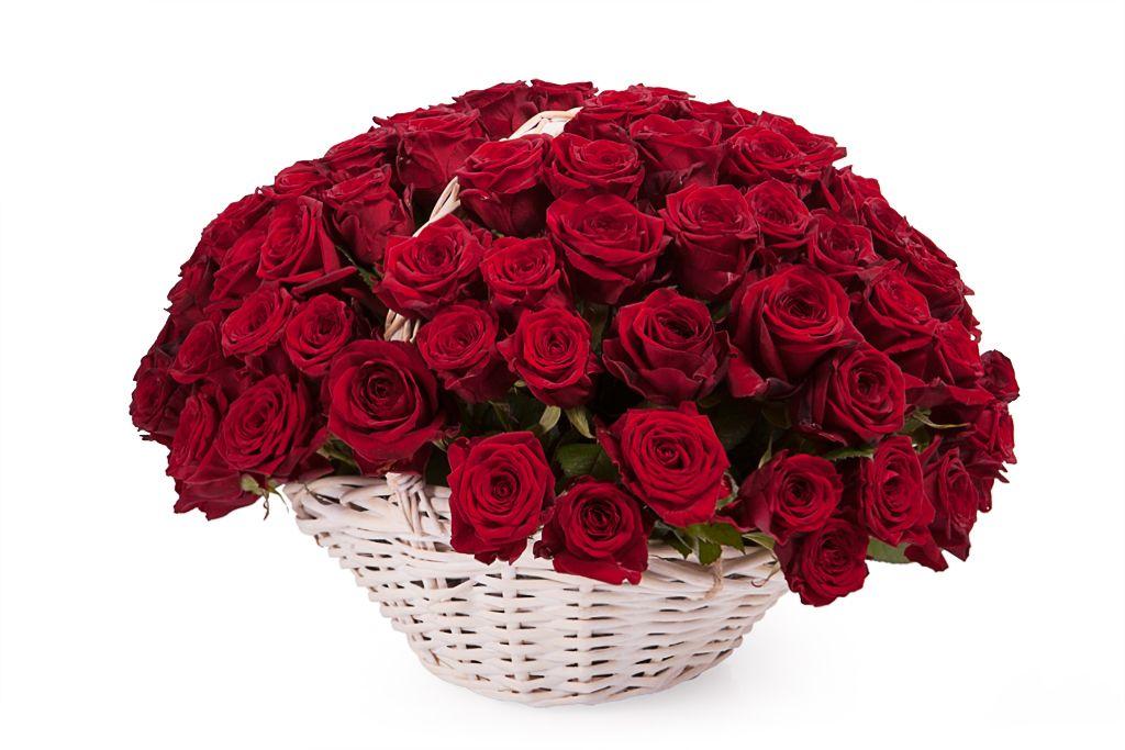 Открытка букет роз женщине