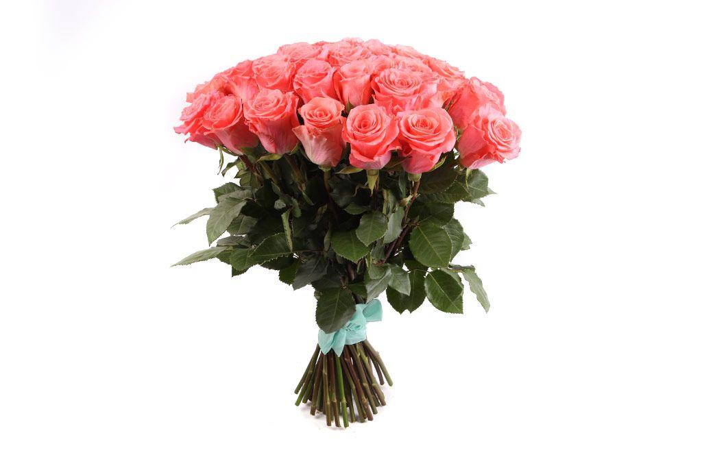 Букет 51 роза Амстердам фото