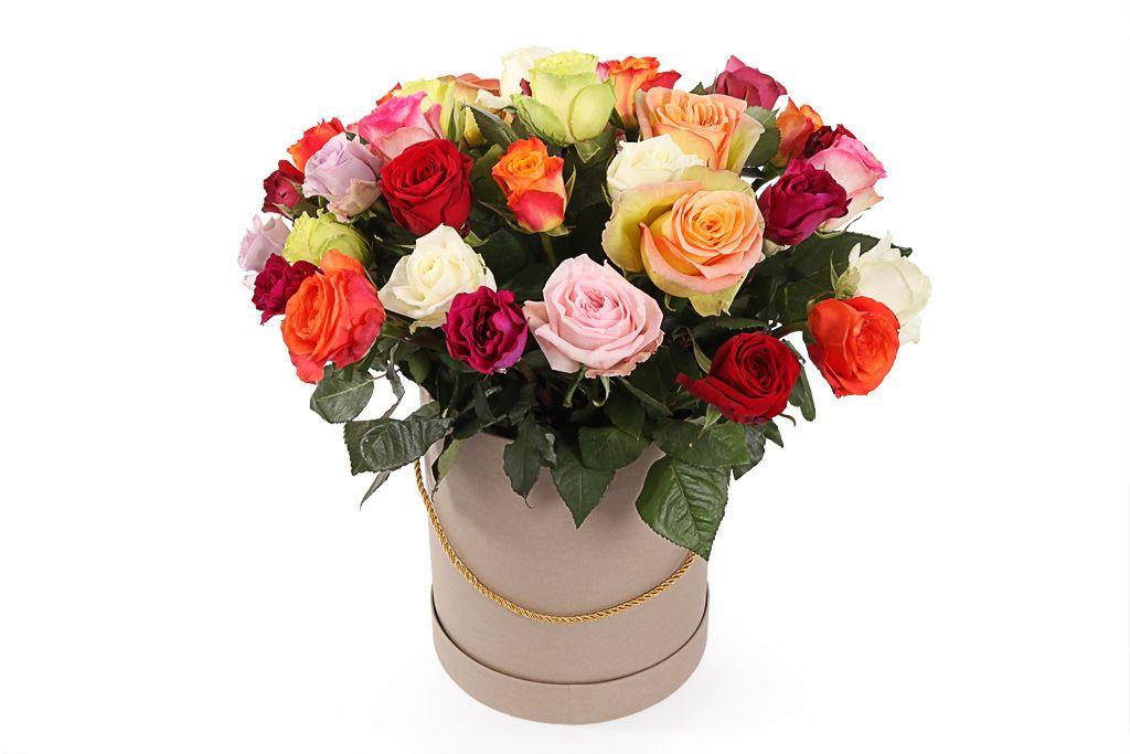 Букет Фламандская легенда (35 роз) в коробке фото