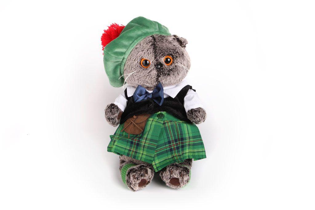 Кот Басик в шотландском костюме фото