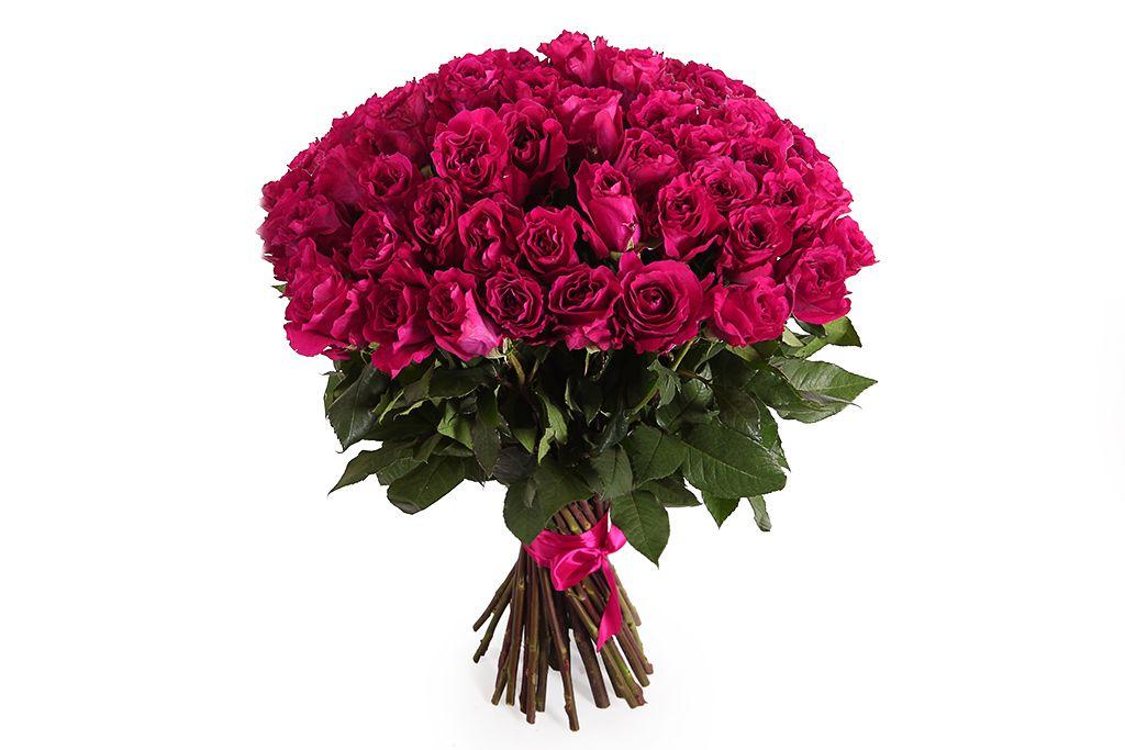Букет 51 роза Мами Блю фото