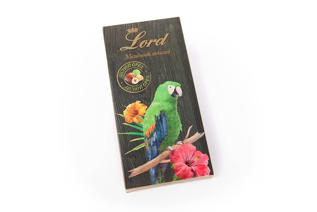 Шоколад молочный Lord «Лесной орех» фото