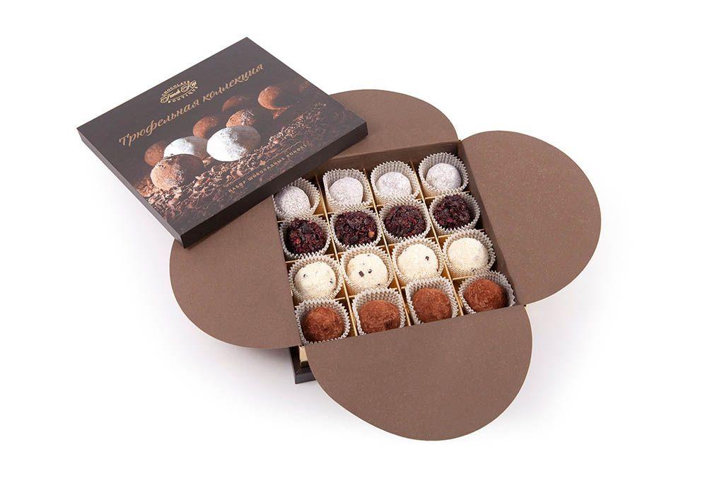 Набор конфет «Трюфельная коллекция» фото